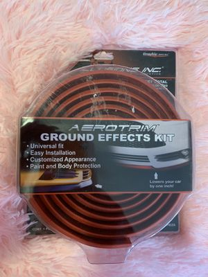 """Ground Effects Kit lowers your car by 1"""" RED for Sale in Billerica, MA"""