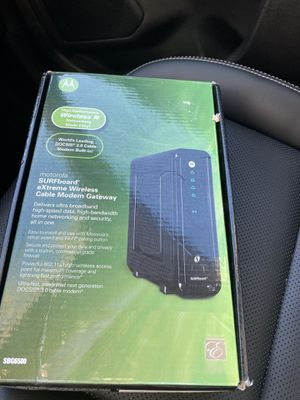 MOTOROLA WIFI CABLE MODEM for Sale in Chicago, IL