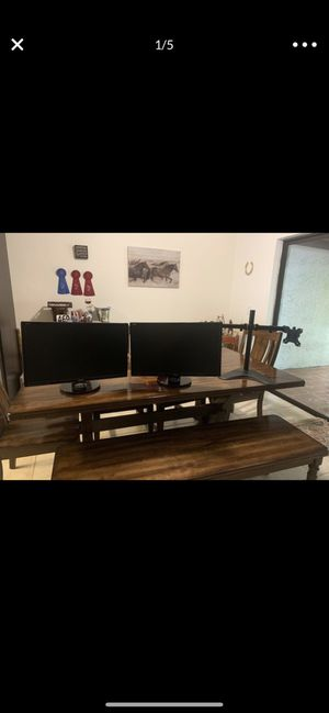 """2 ASUS 24"""" monitor 144Hz for Sale in Port St. Lucie, FL"""