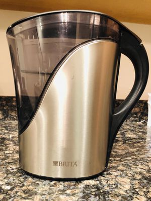 Brita BPA free, 10 cups pitcher w/ 2 free filters $20 for Sale in Bailey's Crossroads, VA