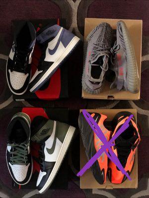 Jordan's retro & Yeezy size 11 & 9.5 for Sale in San Lorenzo, CA
