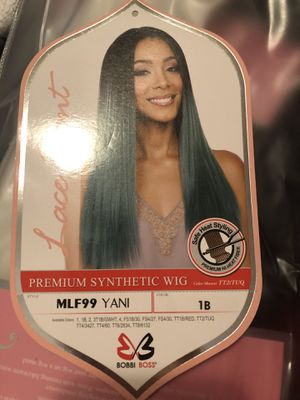 Yani 1B long straight wig for Sale in Seattle, WA