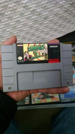 Zombies eat my neighbor for snes for Sale in Salem,  OR