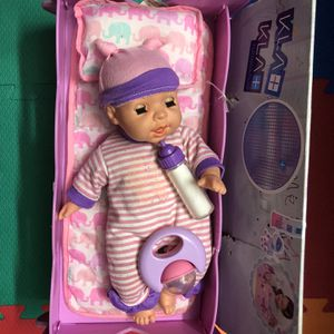 Baby toy with rocking cradle play music for Sale in Milpitas, CA