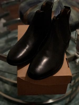 Black Leather ASOS Chelsea Boots for Sale in Orlando, FL