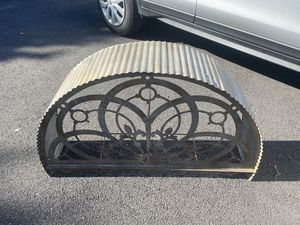 "Galvanized over door arch farmhouse rustic 39"" for Sale in Bath, PA"