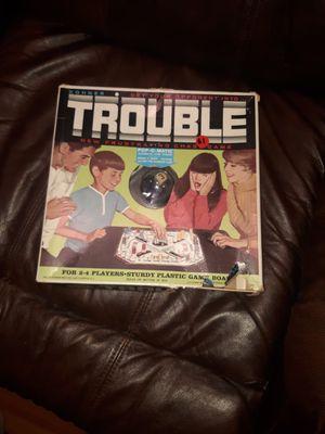 Original Trouble board game for Sale in Villa Rica, GA