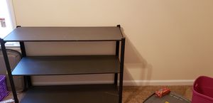 5 Tier Black metal shelves for Sale in Athens, GA