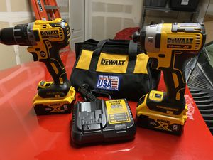 Dewalt XR 20v Drill/Impact Set Brand New for Sale in Patterson, CA