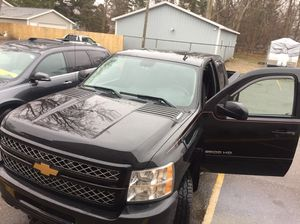 2012 Chevy Silverado and v plow for Sale in US