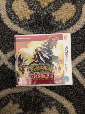 Pokémon Omega Ruby Nintendo 3DS New for Sale in New York, NY