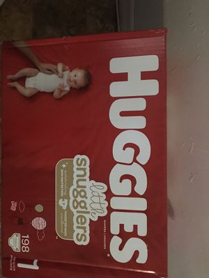 Huggies diapers size 1 for Sale in Tampa, FL