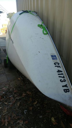 Hobie holder 12 sailboat complete with extra parts for Sale in Costa Mesa, CA