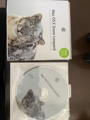 MAC OS X SNOW LEOPARD DISC for Sale in Las Vegas, NV