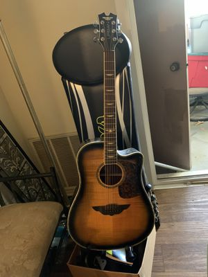 Keith urban guitar and stand for Sale in San Dimas, CA