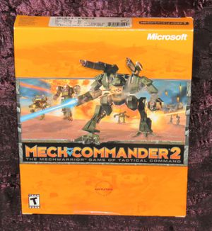 MechCommander 2 PC Game - Factory Sealed Big Box for Sale in Modesto, CA