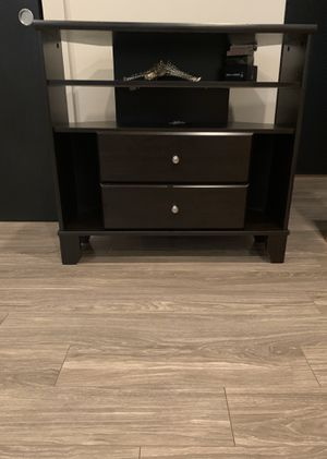TV Stand (Dark Wood) for Sale in St. Louis, MO