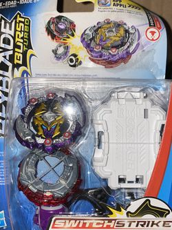 Beyblade Burst Turbo SwitchStrike Hades H3 Hasbro DR56/TB02 Starter Pack for Sale in Winter Haven,  FL
