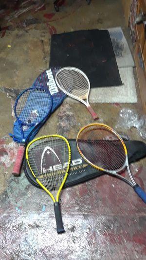 4 Wilson Tennis Racket for Sale in Hudson, FL