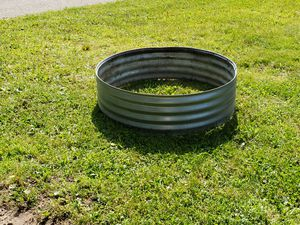 """43"""" Galvanized Steel Round Fire Ring for Sale in Lake City, MI"""