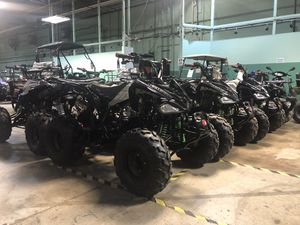 Brand new 125cc atv four wheeler with warranty for Sale in New Lenox, IL