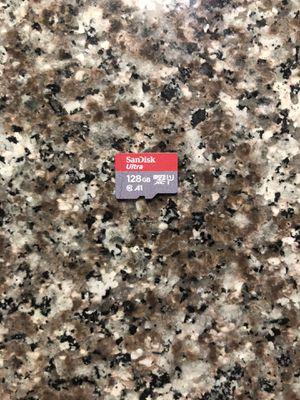 Micro sd card 128gb sandisk ultra for Sale in Chula Vista, CA