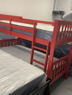 Red Bunk Bed for Sale in Norcross,  GA