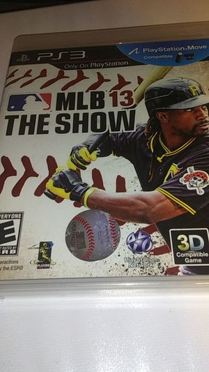 MLB 13 for ps3 for Sale in Dorris, CA