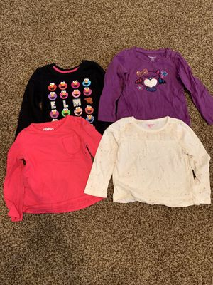 24mo/2T long sleeve shirts for Sale in Payson, AZ