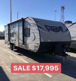 Forest River Wildwood Bunkhouse Travel Trailer RV for Sale in Spring,  TX