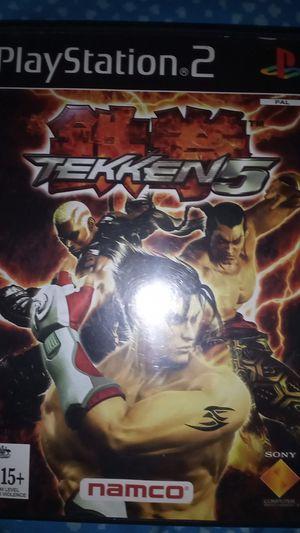 Tekken 5 ps2 for Sale in Phoenix, AZ