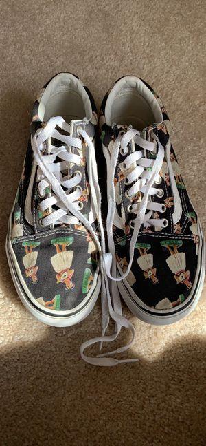 Vans Hula Girl Hawaiian print skateboard shoes for Sale in Camp Hill, PA