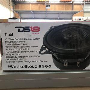 Ds18 4 Inch Speaker for Sale in Denton, TX