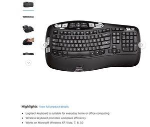 Logitech K350 Wireless Keyboard for Sale in Rossmoor, CA