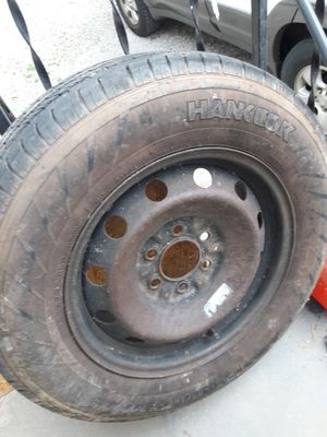 Used 235/70/17 tire on rim for Sale in Knoxville, TN