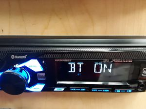 Dual 200 watts digital media receiver with bluetooth aux USB remote control ( no CD player ) for Sale in South Gate, CA