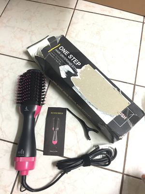 One-Step Hair Dryer & Volumizer Styler,Professional Salon Hot Air Brush Styler and Dryer 3-in-1 Negative Ion Straightener Oval Blower Hair Dryer for for Sale in Westminster, CA
