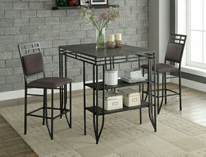 New Counter Height Dining Table w/ 2 Chairs for Sale in Austin, TX