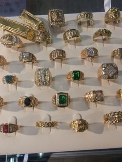 14k Solid Gold Rings 499$ And Up. Free Sizing. We FINANCE for Sale in Ontario,  CA