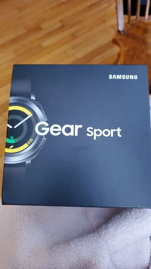 Samsung gear sport for Sale in Beverly, MA