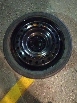 """Spare Tire For 2015 Chevy Malibu 17"""" 5x120 Lug Nut Pattern for Sale in Houston,  TX"""
