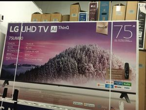 "75"" LG smart 4K UHD TV for Sale in Perris, CA"