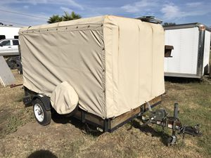 5x8 Covered Utility trailer with Spare for Sale in Vista, CA