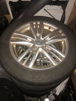 5x114.4 Infiniti G37 Wheels for Sale in Nokesville,  VA