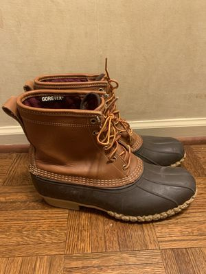 Bean Boots By LL Duck Boots for Men Size 10M for Sale in Skokie, IL