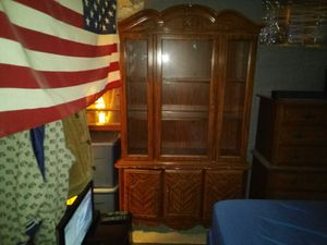 HUTCH/CHINA CABINET for Sale in Lowell, MA