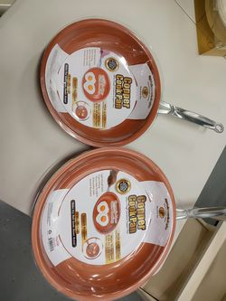 """Copper Cook Pans 10"""" and 12"""" for Sale in Altamonte Springs,  FL"""