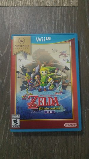 Nintendo wii U zelda windwaker for Sale in Homestead, FL