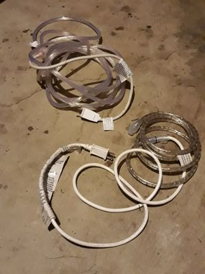 2 pieces led lights rope 1 is 6 ft. long 1 is 14 ft. long $ 15 for Sale in Garden Grove, CA
