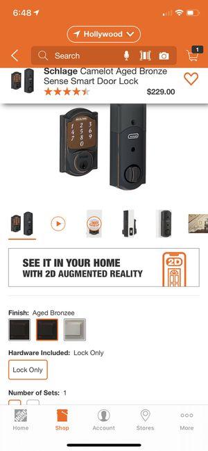 Schlage Sense Smart door lock for Sale in Miami, FL